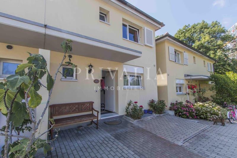 Charmante maison jumelle dans un environnement calme à proximité du centre de Genève