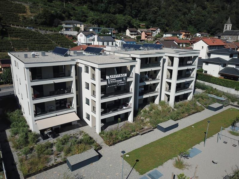 Gudo, nuovo 2.5 locali in affitto, Residenza 2 Grappoli