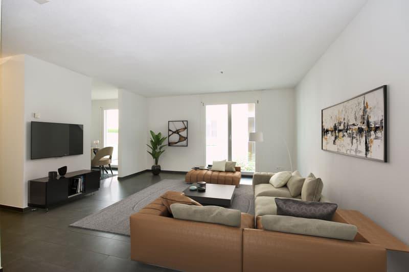 3.5 Zimmer Wohnung an ruhiger und attraktiver Wohnlage zu vermieten.