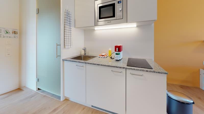 Neue 1.5-Zimmer Apartments zu vermieten
