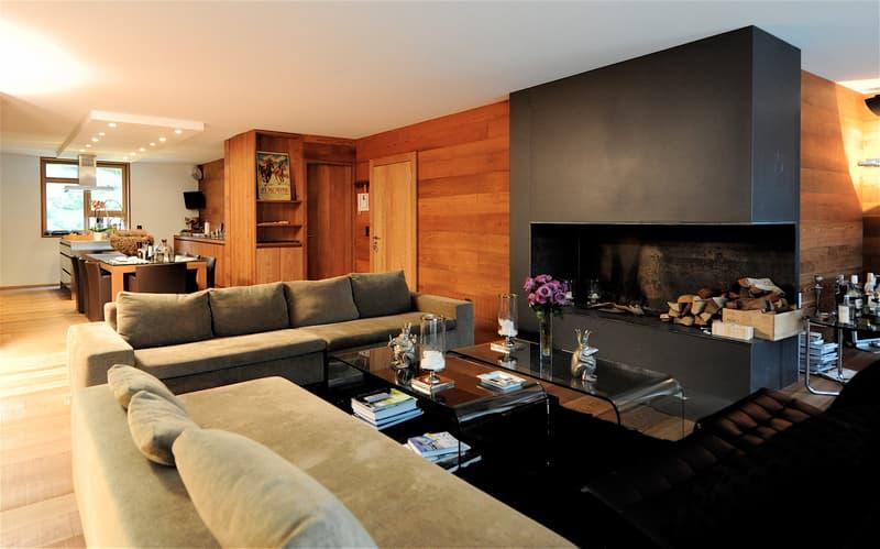 Luxuriöse 6 Zimmerwohnung in der Residenza Cresta Kulm