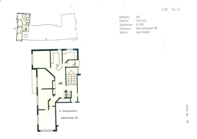 Suchen Sie attraktive Praxis-/Büroräumlichkeiten an bester Lage in 8001 Zürich? (2)