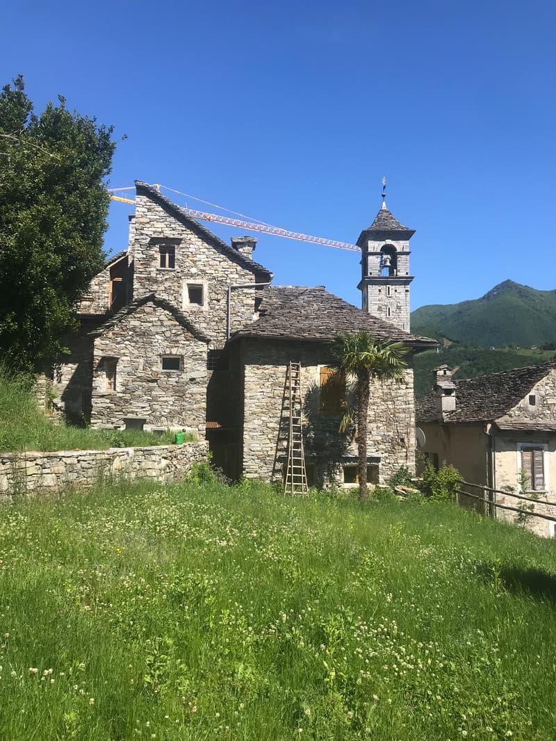 Wohnen in den Gemäuern der alten Trotte