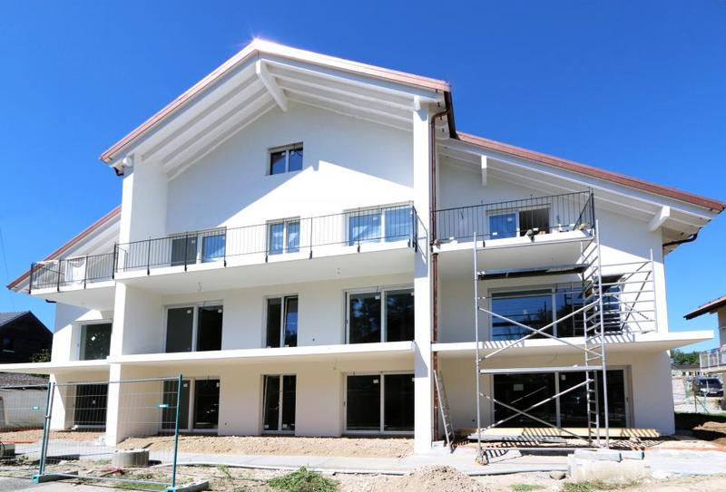 12 appartements en cours de construction