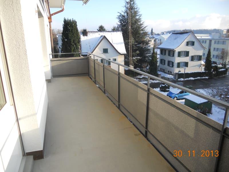 Balkon gegen Süden