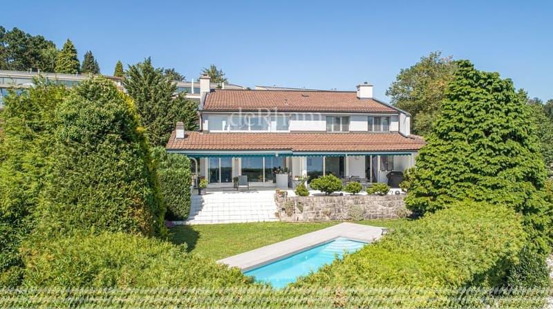 Belle villa de 8,5 pièces avec vue totale sur le lac et les Alpes (2)