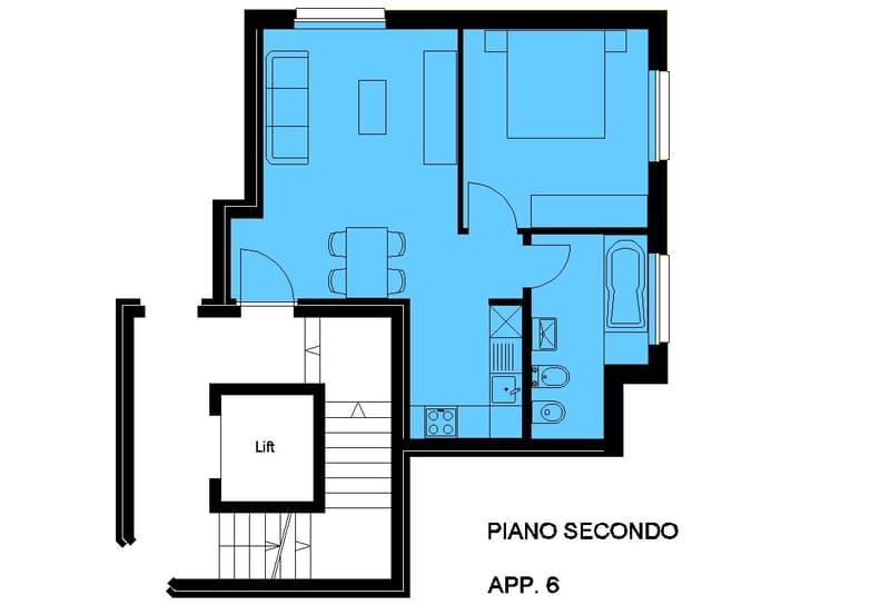 STABIO: Affittasi appartamento 2,5 locali