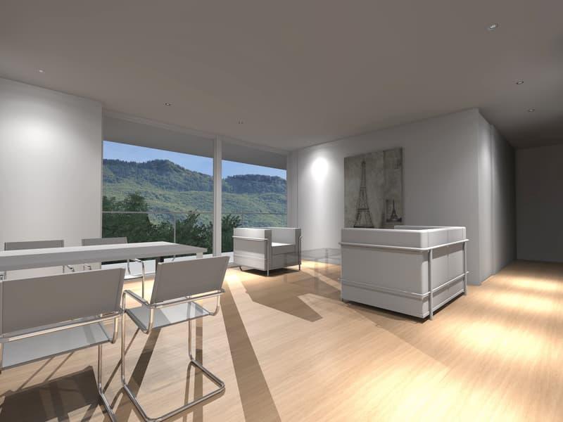 Nuova moderna residenza immersa nel verde