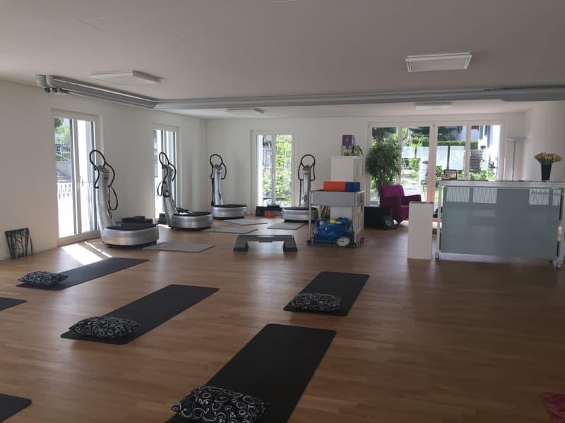 Büro, Therapie, Atelier, Fitness... was das Herz begehrt