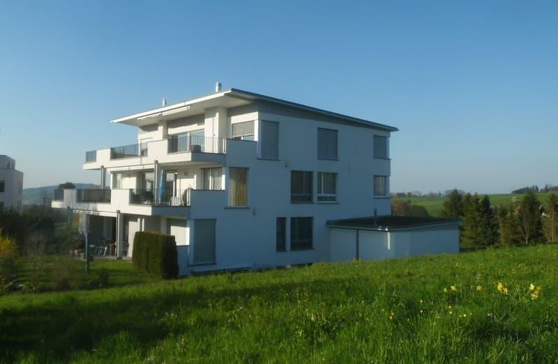 3.5 Zi-Wohnung an idyllischer Lage - Wohnen wie im Eigenheim