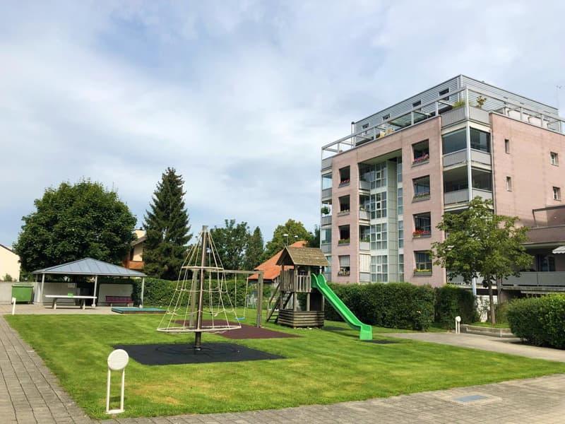 Ein ruhiges Quartier am Buchholzpark