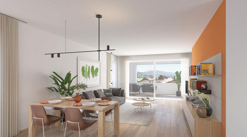 Appartamento in stile contemporaneo a Sorengo