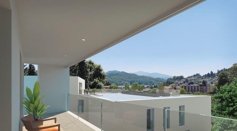 Prestigioso attico con ampio terrazzo!