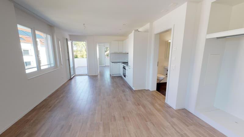 MODERNE Single-Wohnung mit Sitzplatz