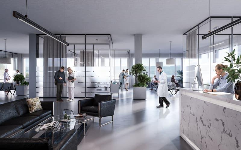 Büro-/Gewerbeflächen ab 150m² bis 1'200m²