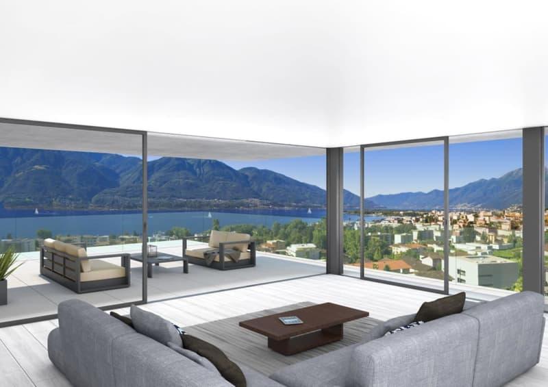 Attico 5.5 locali - 5.5 Attikawohnung - Residenza Estate&Esplanade (1)