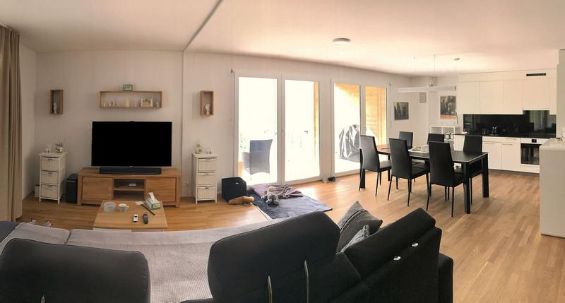 Grossräumige, moderne und helle 3.5 Zi.-Wohnung