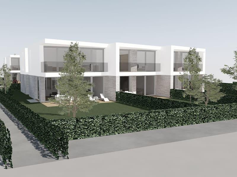 Six villas contemporaines à Vésenaz (1)