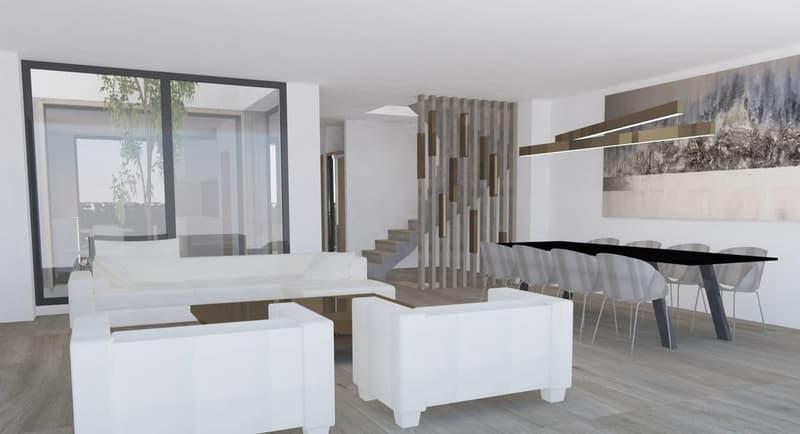 Six villas contemporaines à Vésenaz (4)