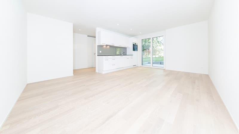 Letzte Wohnung: helle 2.5-Zimmerwohnung in exklusivem Ausbaustandard
