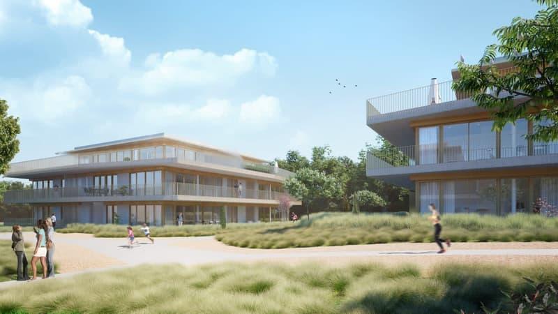 Appartement de 5 pièces au 1er étage - surface pondérée de 136 m2 avec terrasse