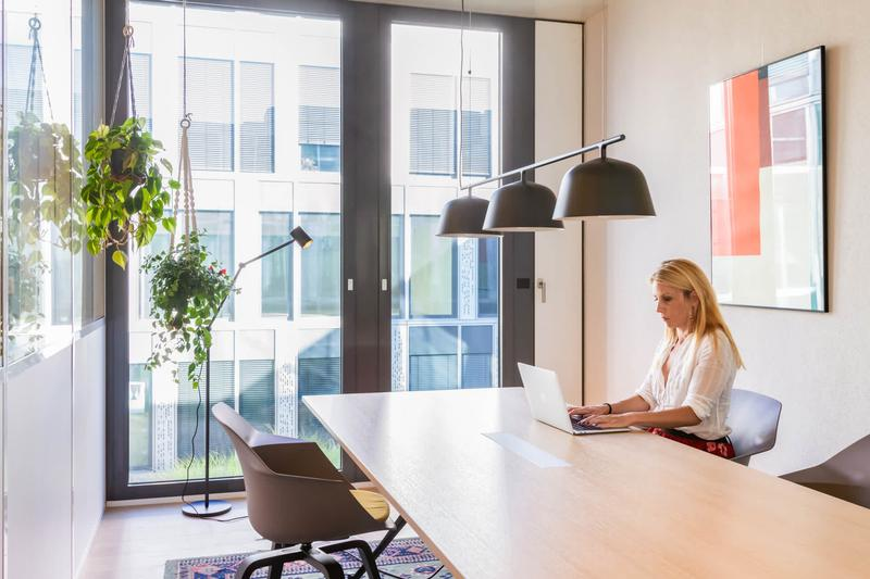 Work undisturbed in your private office