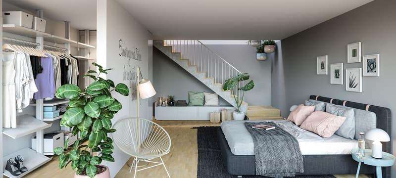 Erstklassige Maisonette Wohnung mit Garten in aufstrebendem Quartier (4)