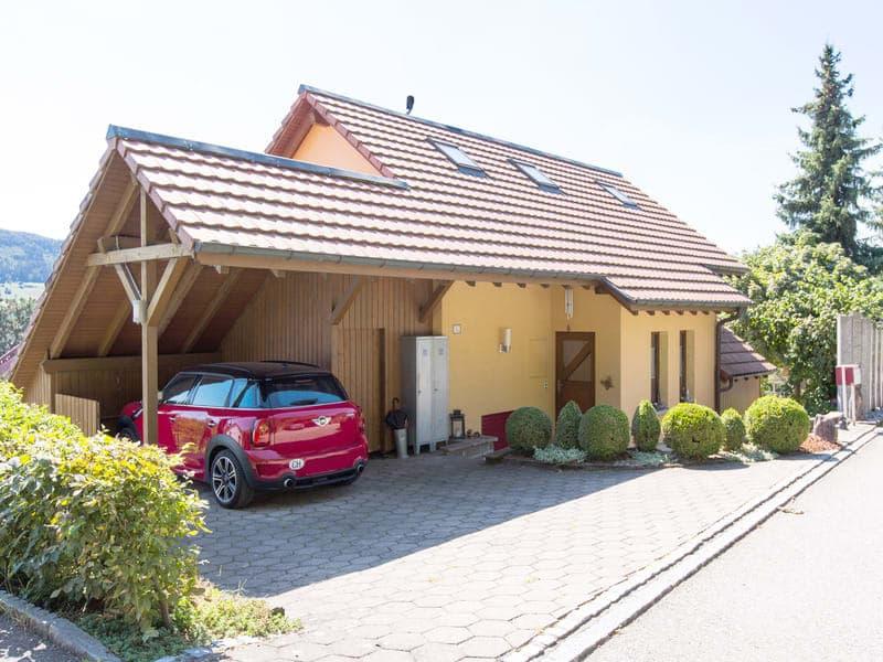 Das familienfreundliche und grossflächige Einfamilienhaus in Wallbach