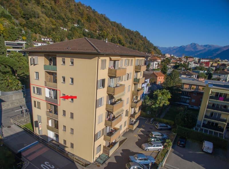 Appartamento di 3 locali a Locarno-Solduno (174-16)