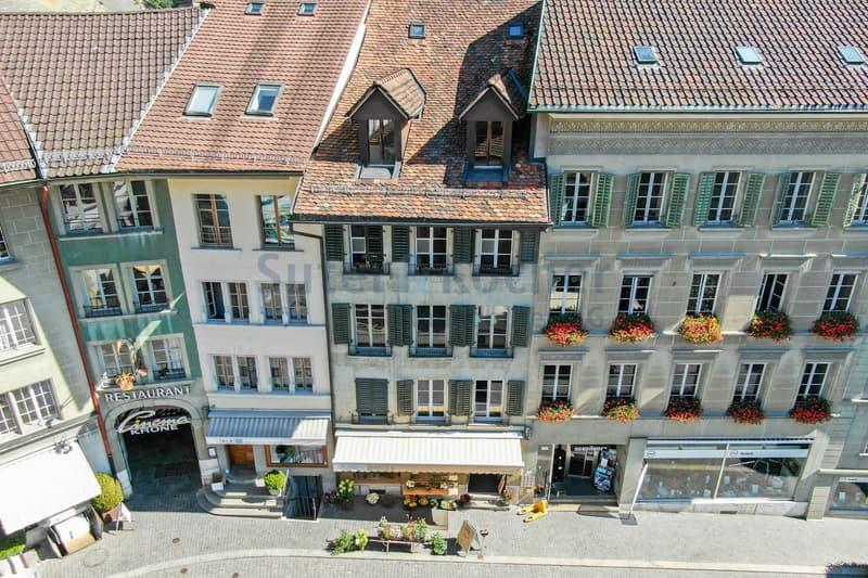 Charaktervolles Wohn- und Geschäftshaus in der Burgdorfer Altstadt!