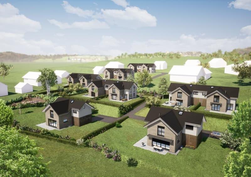 Le Clos des Girolles à Savigny, villas neuves à vendre, situation idéale.