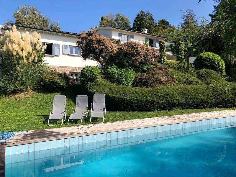 Maison classique rénovée, piscine,  centrale, sans nuisances (2)