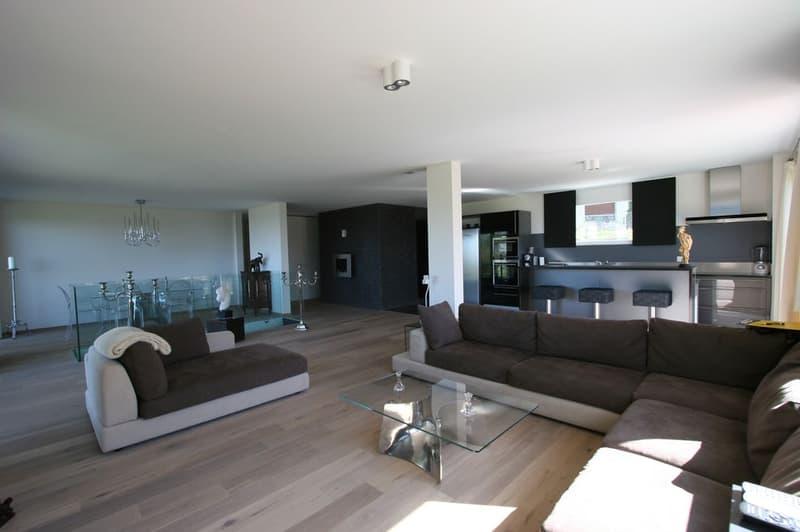 Superbe appartement de 6 pièces avec balcon et deux terrasses