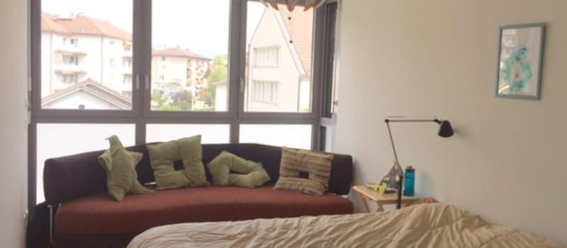 Chambre à louer dans un grand apartement 4.5p Lausanne/Pully