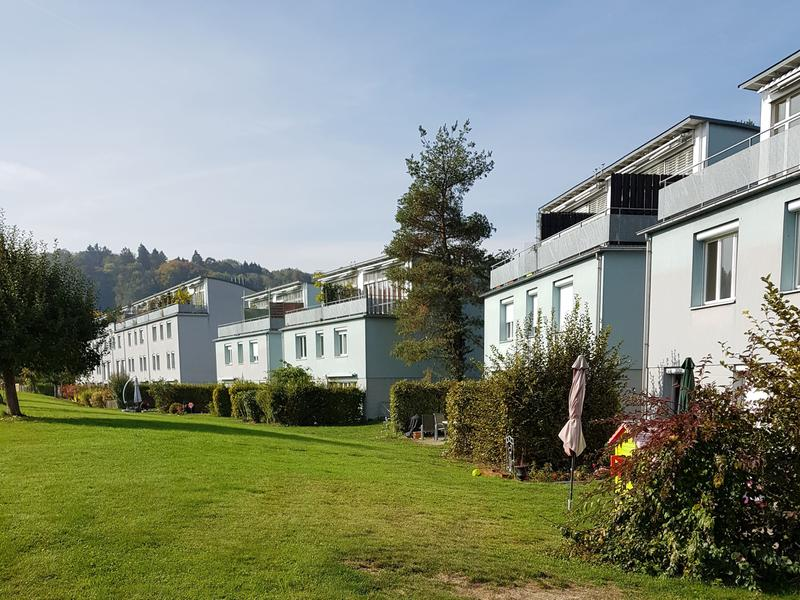 Ruhige 3,5 Zimmer-Maisonettewohnung mit Terrasse und Blick ins Grüne