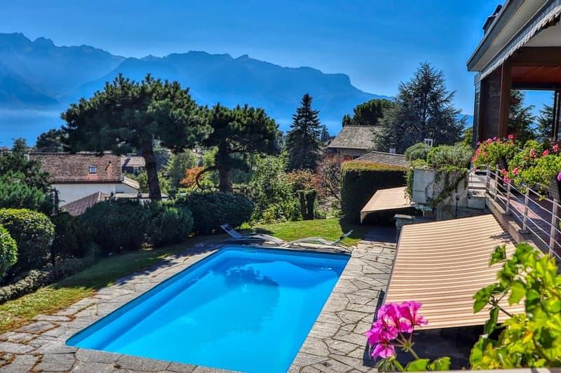 Maison avec piscine sise à proximité du coeur de Vevey