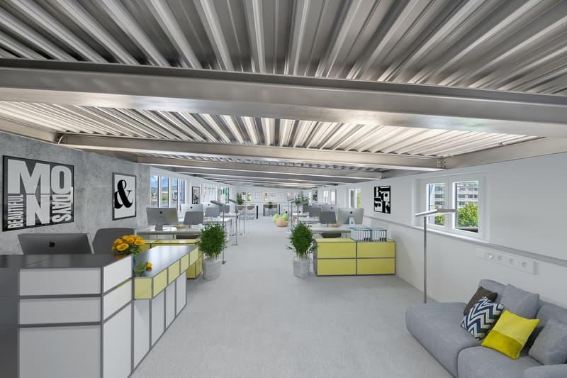 Büroräume für Verwaltung Treuhand Versicherung Architektur ....