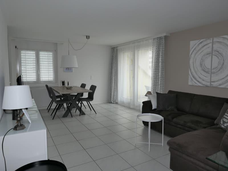 Möblierte 3.5-Zimmer-Maisonette-Wohnung beim Menzo-Markt