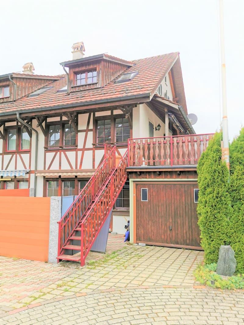 Zu verkaufen 5.5 ZI.-Eckhaus in 8493 Dillhaus /Saland