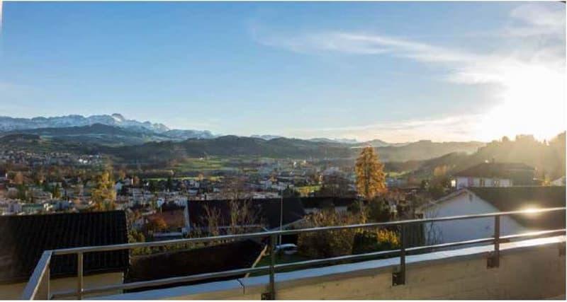 Ruhiges Wohnen mit Sicht auf den Alpstein
