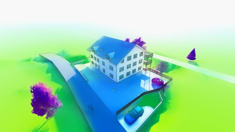 3.5 Zimmer Neubau Wohnung zu verkaufen