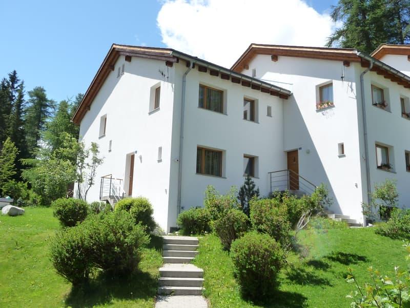 Reihenfamilienhaus an ruhiger Lage am Waldrand.