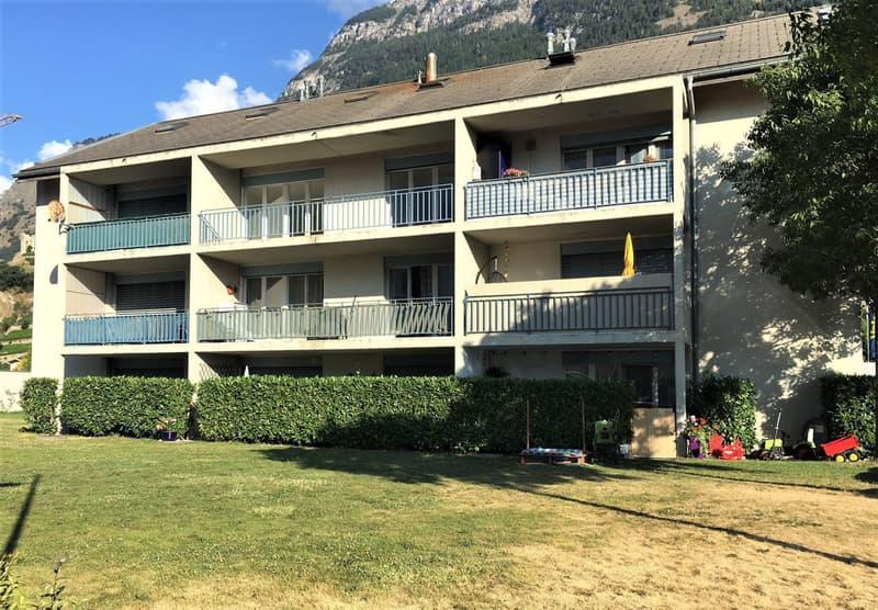 SAILLON Appartement spacieux de 3.5 pièces à CHF 1450.- Charges comprises