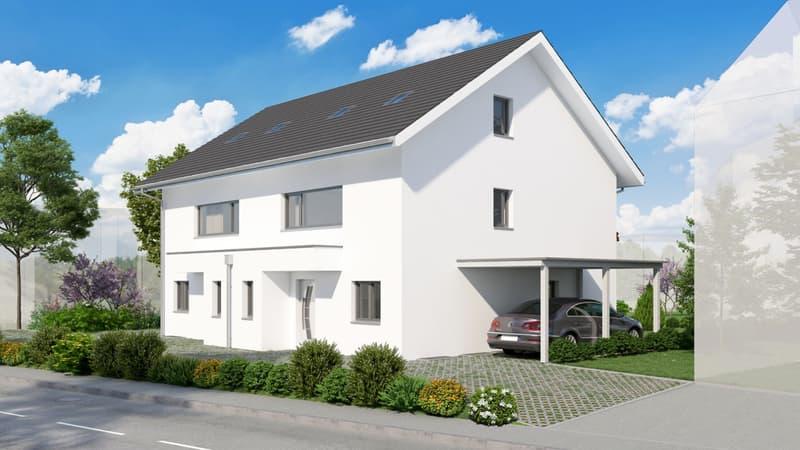 Neubau Doppeleinfamilienhaus in Uetendorf!