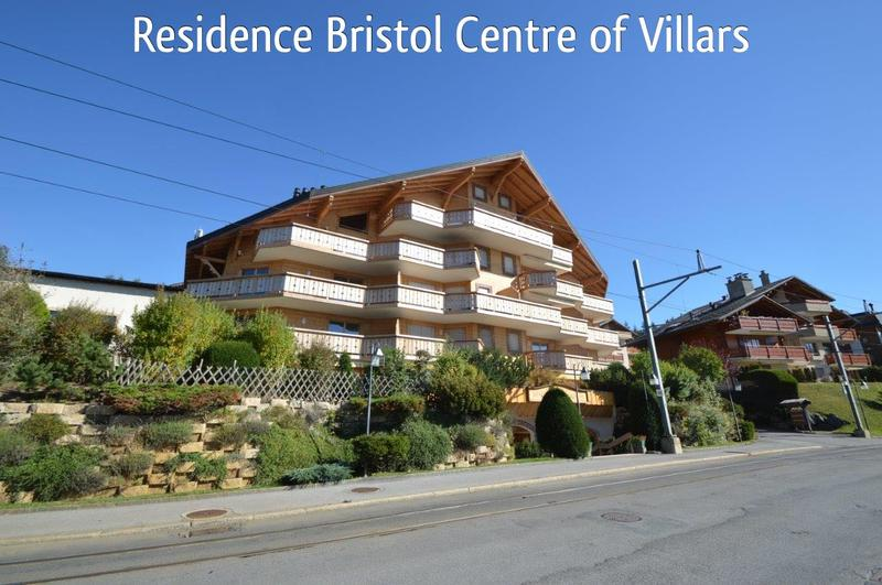 Superb Modern Studio apartment in centre of Villars sur Ollon 3 minutes walk from La Gare