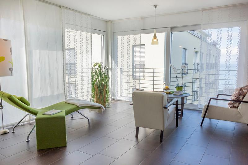 Helle Wohnung mit Seeblick in Staad SG