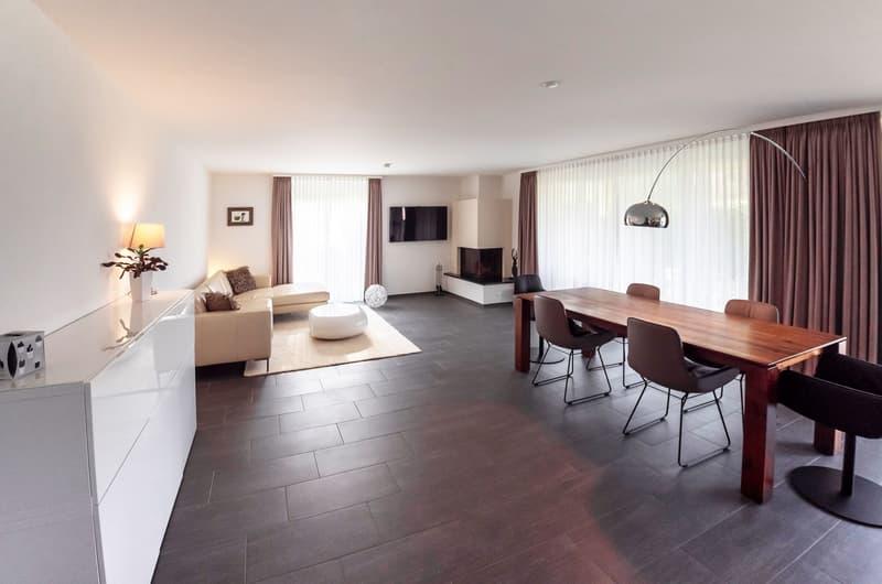 Moderne, ruhig gelegene 4.5-Zimmer-Gartenwohnung