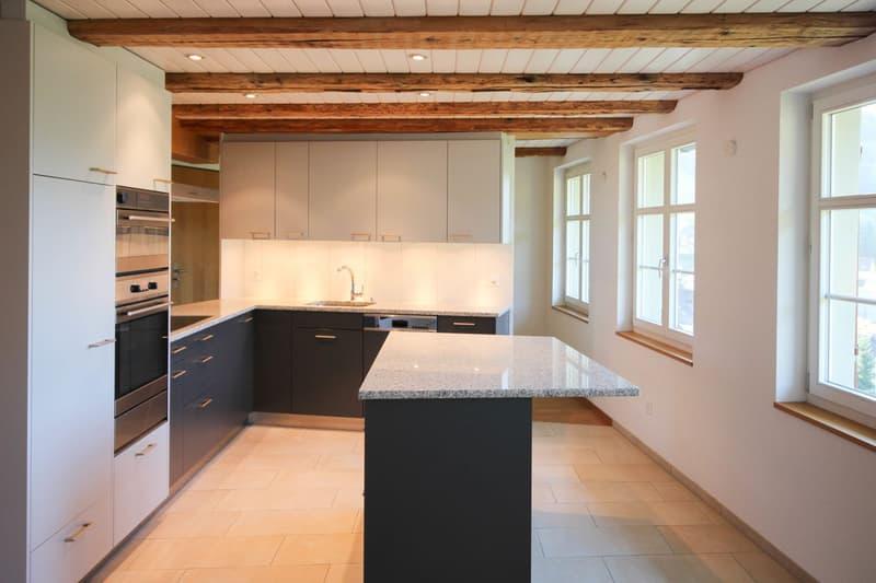 Küche mit viel Ablagefläche