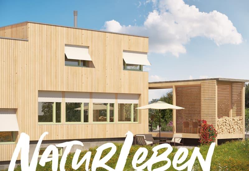 Aufgewacht in Rüfenacht - Wohngenuss im innovativen Holzhaus