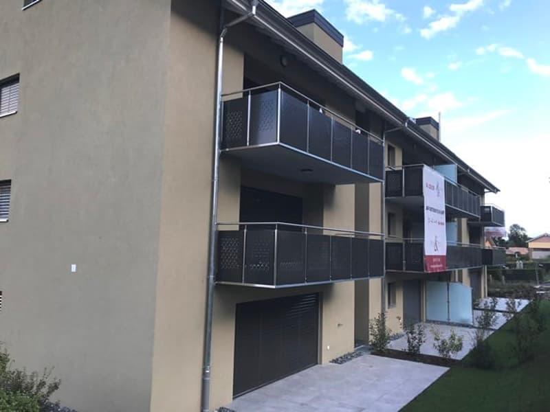 Appartement de 2.5 pièces dans les combles avec balcon